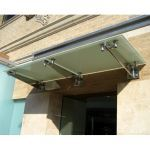 C.R. Laurence Co., Inc. - 10 73 13 CRL Universal Wall Mounted Glass Awning Brackets