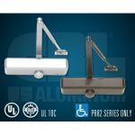 C.R. Laurence Co., Inc. - 08 71 00 CRL PR80 Series Adjustable Spring Power Surface Mounted Door Closers