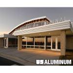 C.R. Laurence Co., Inc. - 08 41 13 CRL-U.S. Aluminum Series 451 & IT451 Center Glaze Storefront Systems