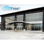 C.R. Laurence Co., Inc. - 08 43 13 CRL-U.S. Aluminum ArcticFront™ Series 45X Dual Thermal Storefront System