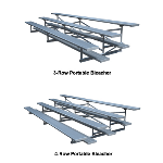Sturdisteel - Portable Bleachers