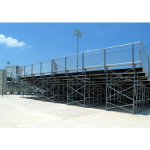 Sturdisteel - CONTINUOUS ANGLE FRAME BLEACHERS