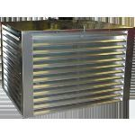 "AWV - PE-21 4"" Drainable Penthouse Louver"
