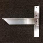 Rakks/Rangine Corporation - Inside Wall Bench Support Bracket
