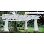 Architectural Columns & Balustrades by Melton Classics - FiberLite™ Pergolas and Arbors
