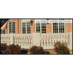 Architectural Columns & Balustrades by Melton Classics - DuraClassic™ Poly/Marble Balustrades