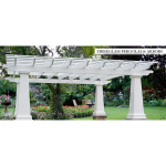 Architectural Columns & Balustrades by Melton Classics - Pergolas & Arbors