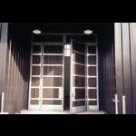 Crown Industrial - Super-Steel Frame Wood Panel Doors