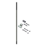 Crown Industrial - Cremone Bolt 3' Add-On Package-Zinc