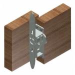 Crown Industrial - Tite-Tite Bolt for Bi-passing-Zinc
