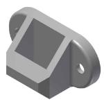 Crown Industrial - Keeper (Standard) for 514 P38 Spring Bolt-Ptd.