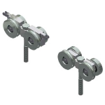 Crown Industrial - 405 Low Head Trolley-Zinc