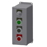Crown Industrial - On/Off Key Switch Open/Close/Stop Push Button Station Nema 4