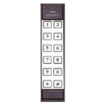 Crown Industrial - 12 Pad 2x6 Stand Alone Keypad-SS #4