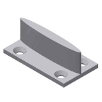 Crown Industrial - Light Duty Concealed T-Guide