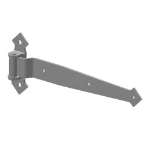 Crown Industrial - 9035 Decorative Full Surface Jamb Strap Hinge