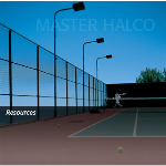 Master Halco, Inc. - Commercial Tennis Court Color Chain-Link Fence
