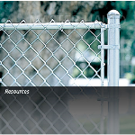 Master Halco, Inc. - Residential Galvanized Chain-Link Fence