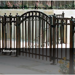 Master Halco, Inc. - Monumental Iron Works® Ornamental Picket Gates