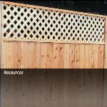 Master Halco, Inc. - Wood Lattice Fence