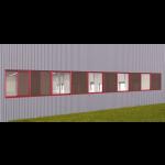 EXTECH/Exterior Technologies, Inc. - TECHVENT 6300® Sliding Industrial Window