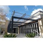 EXTECH/Exterior Technologies, Inc. - SUNGLAZE™ Solid Polycarbonate Standing Seam Canopy System