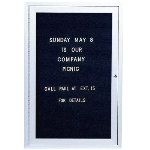 Seton Identification Products - Outdoor Enclosed Letterboards