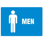 Seton Identification Products - Anti-Microbial Signs - Men