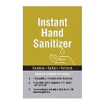 Seton Identification Products - Instant Hand Sanitizer Graphic SPST-711 - 6815D