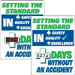 Seton Identification Products - Motivational Safety Scoreboards - Setting The Standard