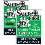 Seton Identification Products - Stock Scoreboards - Safety First
