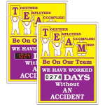 Seton Identification Products - Stock Scoreboards - TEAM Without An Accident