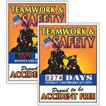 Seton Identification Products - Stock Scoreboards - Teamwork & Safety