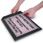 Seton Identification Products - Economy Plastic Snap Frames