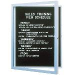 Seton Identification Products - Enclosed Aluminum Frame Indoor Letterboards