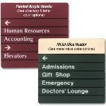 Seton Identification Products - Modular Acrylic Directories
