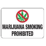 Seton Identification Products - No Smoking Signs - Marijuana Smoking Prohibited