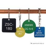 Seton Identification Products - Anodized Aluminum Valve Tags