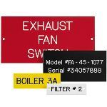 Seton Identification Products - Custom Engraved Phenolic Plastic Nameplates