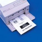 Seton Identification Products - Aigner Magnetic Backed Printer Sheets - White 12/PK LM811 - 69869