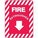 Seton Identification Products - Metal Fire Equipment Markers - 21999