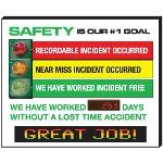 Seton Identification Products - Electronic Signal Scoreboard - 91070