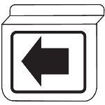 Seton Identification Products - Drop Ceiling Double-Sided Signs - 13940