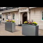 Tymetal Corp. - Universal Slimline Planter 40 Anti-Ram Solution