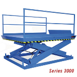 Advance Lifts, Inc. - 3000 Series Recessed Dock Lifts: 8-20K LBS CAP