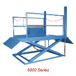 Advance Lifts, Inc. - 6000 Series Top Of Ground Dock Lifts: 5-15K LBS CAP