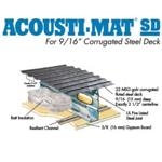 Rapid Floor® Systems - Acousti-Mat® SD For Corrugated Steel Deck