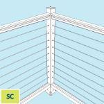 Feeney, Inc. - Single Corner Post Kit