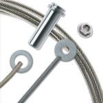 """Feeney, Inc. - CableRail® Kits For Wood Posts - 3/16"""" Cable Diameter"""