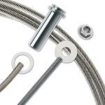 """Feeney, Inc. - CableRail® Kits For Metal Posts - 1/4"""" Cable Diameter"""